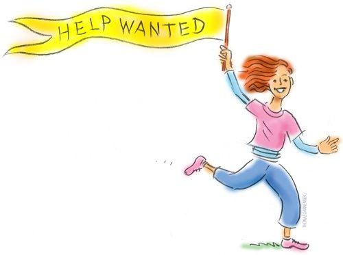 Volunteers, we need you! cover Image