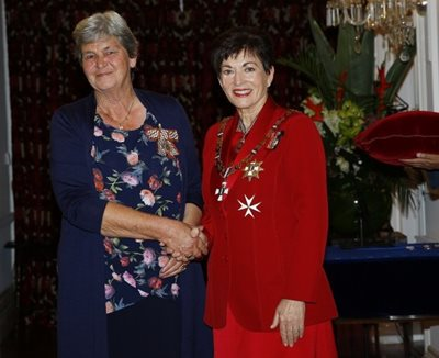 Diane Nutsford presented with Queen's Service Medal cover Image