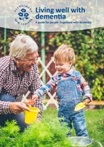 Booklet: Living well with dementia Thumbnail Image