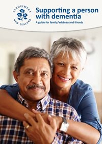 Booklet: Supporting a person with dementia Thumbnail Image