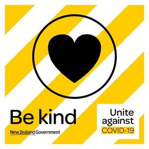 Covid 19 Be kind icon