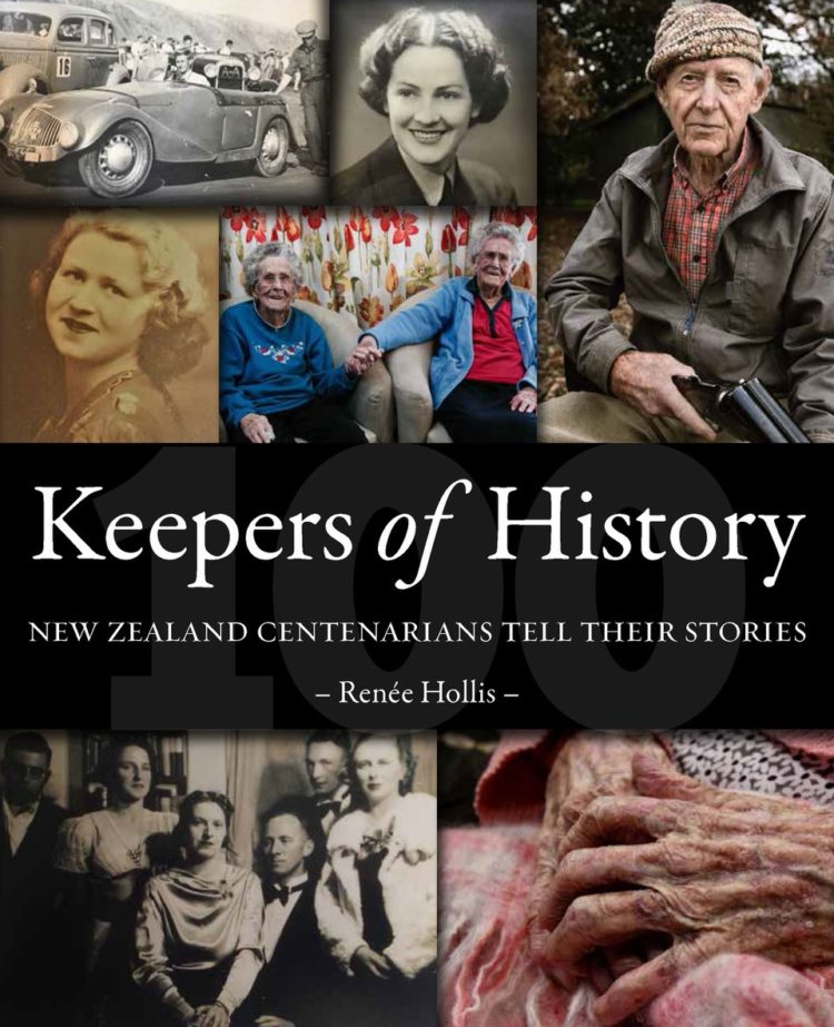 Keepers of History: New Zealand centenarians tell their stories Cover Image