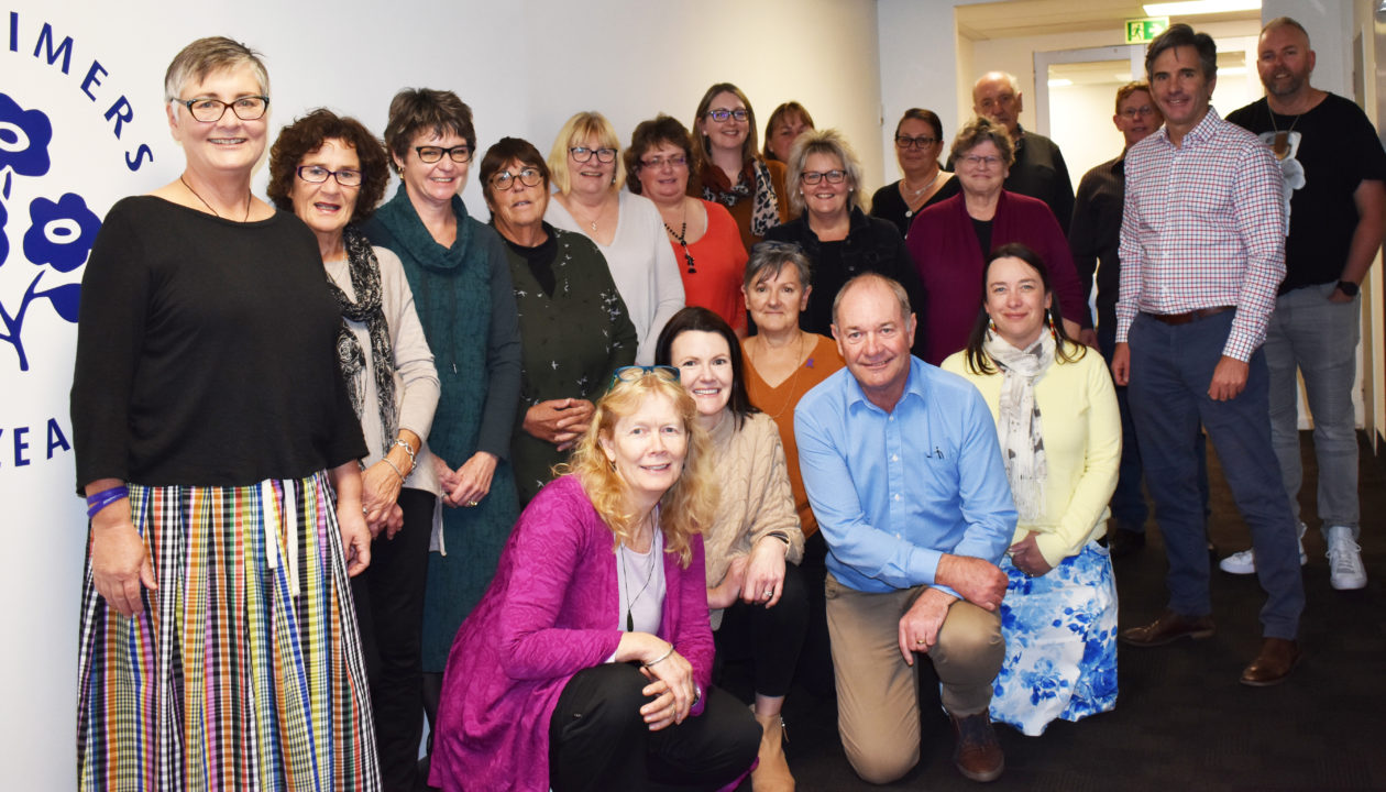Members of Alzheimers New Zealand