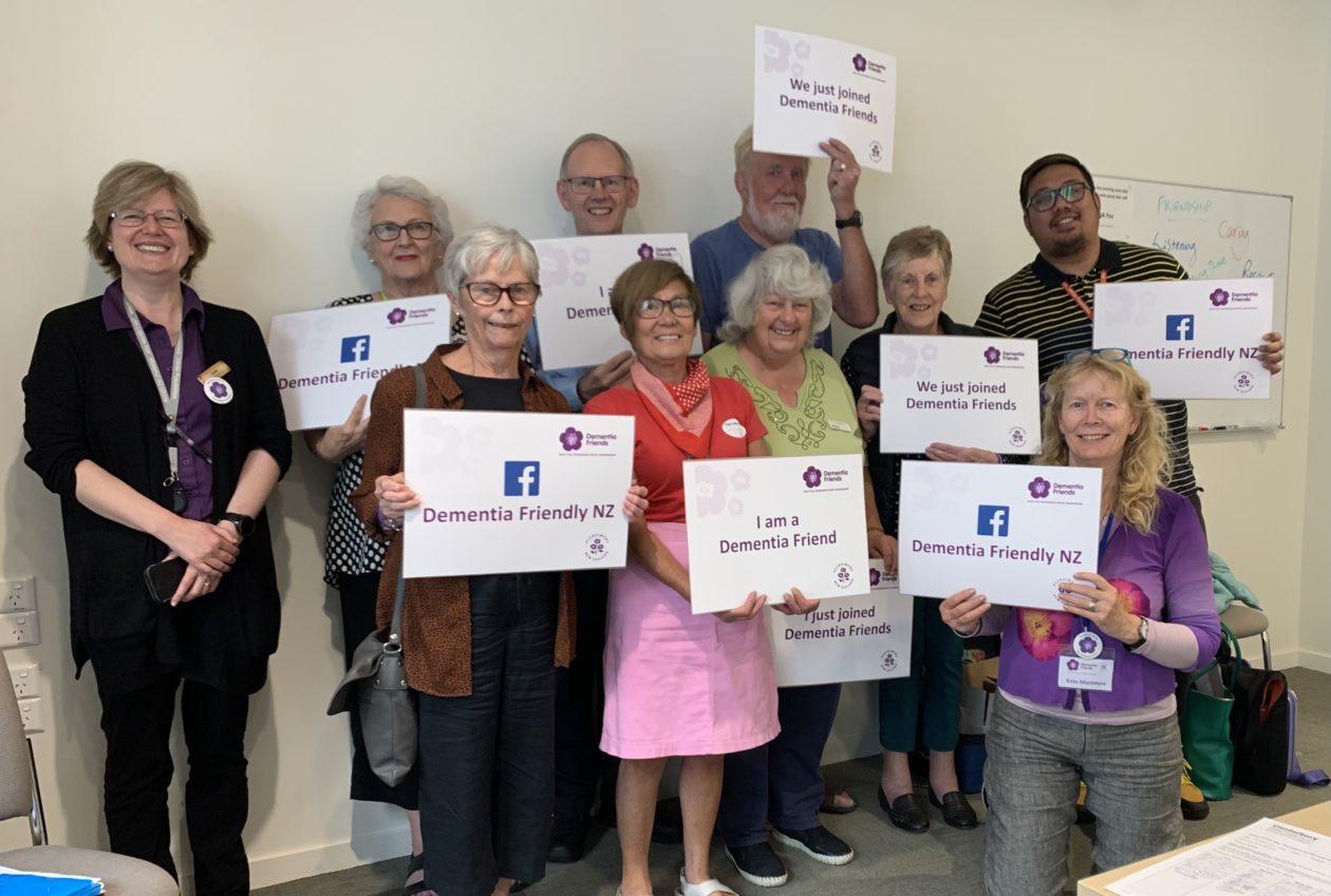 Staff at Burwood Hospital become Dementia Friends